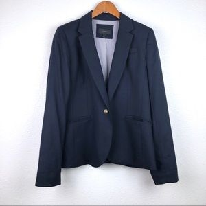 J. Crew navy blazer suit jacket